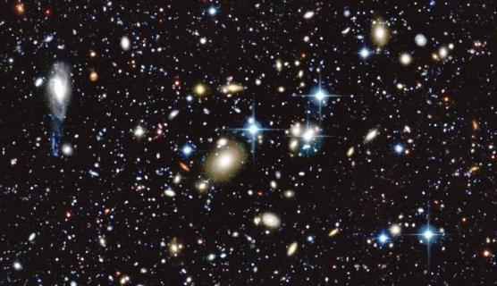 Concentré d'Univers avec la caméra MegaCam