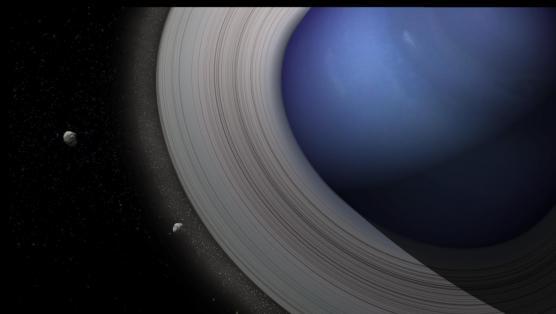 Les lunes naissent dans les anneaux