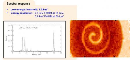 MACSI, une caméra CdTe pour la spectro-imagerie des  rayons X durs à haute résolution