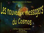 Le CEA aux Rencontres du Ciel et de l'Espace 2012