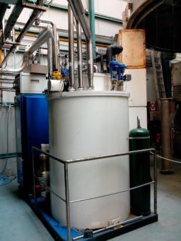 Hélial 4003 liquefier - refrigerator used with the W-7X test station