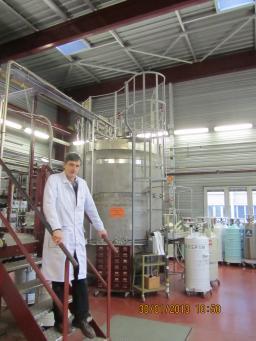 Hélial 4008 liquefier in the liquefaction station