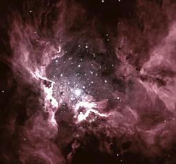 Les étoiles massives façonnent les filaments interstellaires