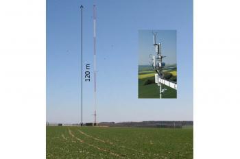 L'Irfu et le LSCE livrent la première station de mesure de gaz à effet de serre au standard européen.