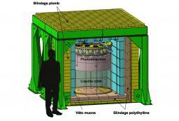 Nucifer : Premiers Neutrinos détectés à Saclay !