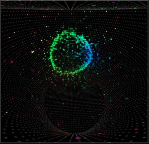 Un nouveau type d'oscillation de neutrino observé dans l'expérience T2K