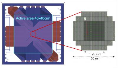 Détecteurs MicroMegas pixellisés pour le tracker COMPASS