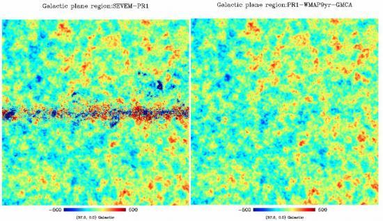 L'image la plus complète de la première lumière de l'Univers