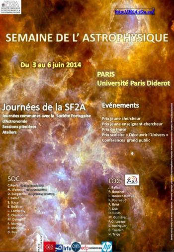 Semaine de l'Astrophysique Française (3 au 6 juin 2014)