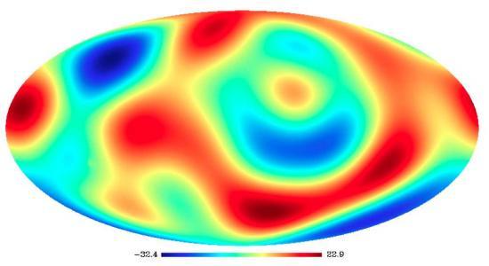 Les défauts du fond diffus de l'univers sont-ils réels ?