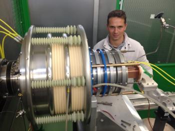 Succès des tests à Saclay des 2 premières sources d'ions SILHI2® fabriquées par Pantechnik