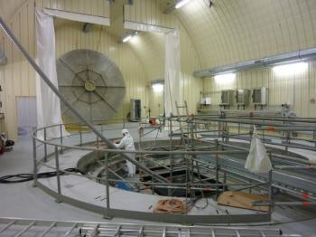 Inauguration du deuxième détecteur de neutrinos de l'expérience Double Chooz