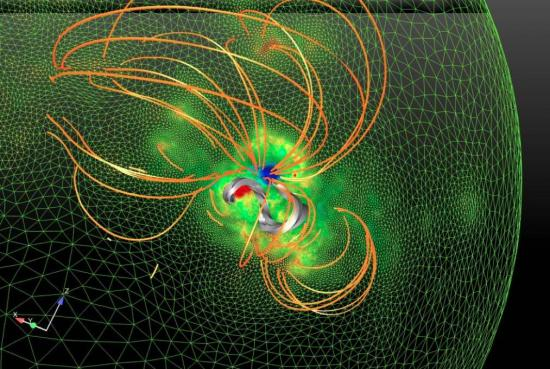 Play on the solar rope