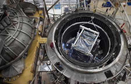 Premier coup de froid sur les instruments du Space Webb Telescope (JWST)