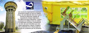 Un télescope à l'ombre cosmique du château d'eau