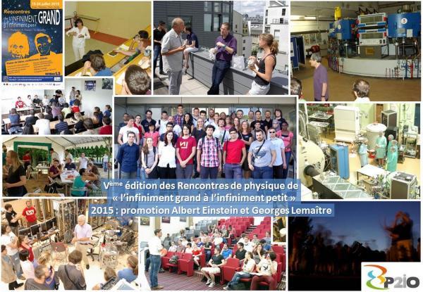 Rencontres d'été de physique: De l'infiniment grand à l'infiniment petit