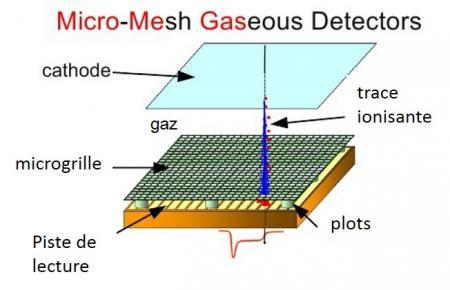 De nouveaux détecteurs Micromegas hybrides et pixelisés pour l'expérience Compass