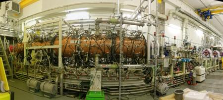 Spiral2: Le RFQ (Radio Frequency Quadrupole) accélère son premier faisceau