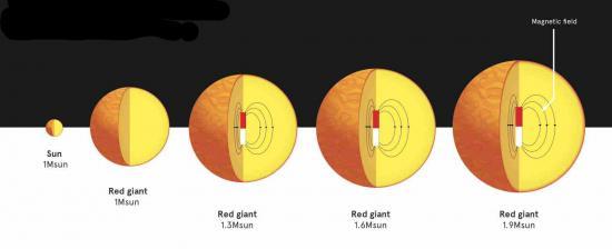 De forts champs magnétiques présents dans la majorité des étoiles de masses intermédiaires