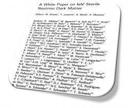 Un livre blanc pour la matière noire