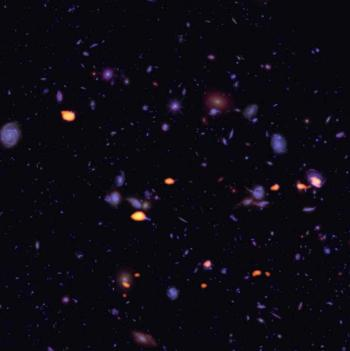 ALMA explore le Champ Ultra Profond d'Hubble