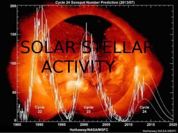 Solar/Stellar activity