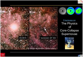 5 lectures on Supernovae