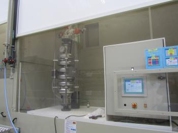 Integrated chemistry cabinets
