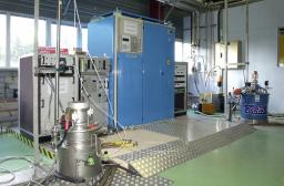 Test Cryostat at Variable Temperature and High Magnetic Field Saclay (CETACES)