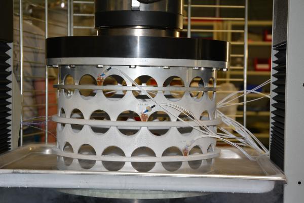 Mechanical test laboratory