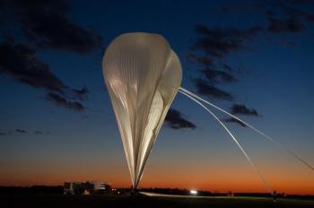 Un ballon a 40 km d'altitude pour mieux voir la poussière galactique
