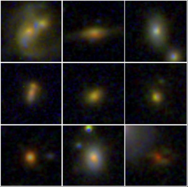Des trous noirs géants dans des galaxies compactes