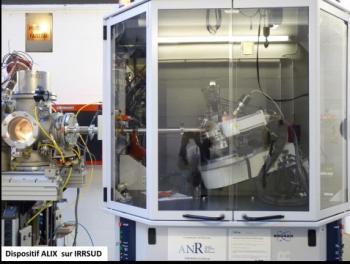 Campagne d'expériences interdisciplinaires 2017 au GANIL : les faisceaux d'ions utilisés pour la physique atomique, du solide, la radiobiologie et l'astrochimie