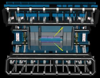 Premier signe direct de l'interaction de la lumière avec elle-même vu par l'expérience Atlas
