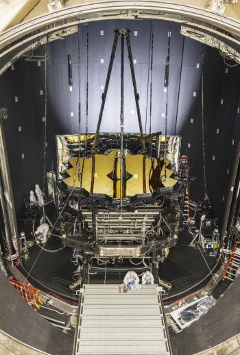 Le James Webb Space Télescope (JWST) n'a pas froid aux yeux