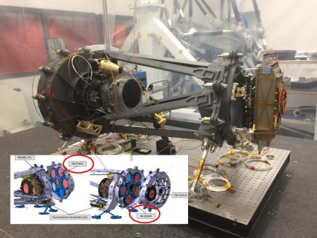 Livraison du modèle de vol des cryomoteurs de la caméra NISP pour le télescope Euclid