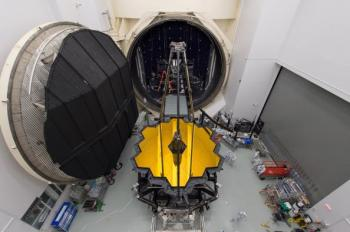 James Webb Space Telescope (JWST) sees through the cold
