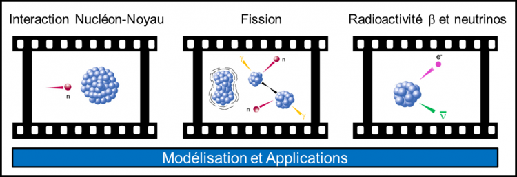 LEARN - Study and Applications of Nuclear Reactions