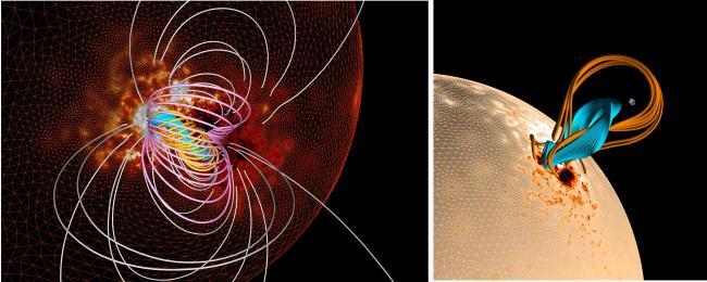 Pouvoir prévoir l'énergie des dangereuses éruptions solaires