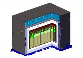 Stereo s'est installé près du réacteur et fait ses premières mesures