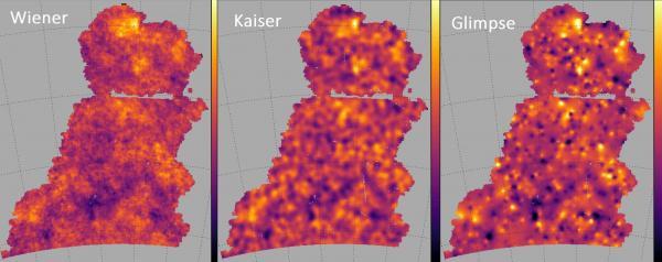 Image analysis to better reveal dark matter