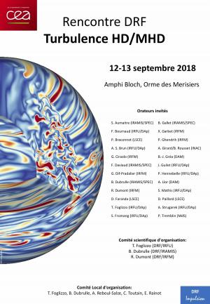 Rencontre DRF Turbulence HD/MHD