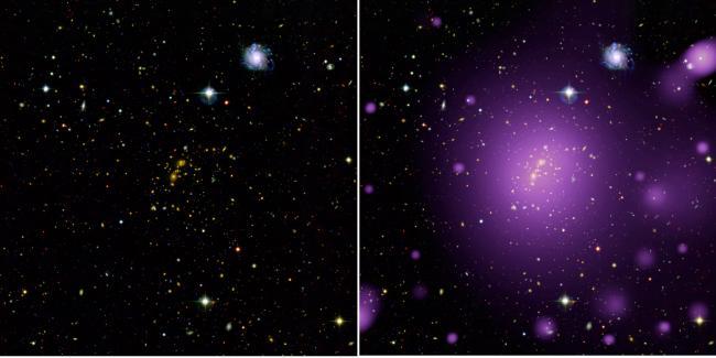 Dessiner l'univers: les rayons X apportent une nouvelle lumière