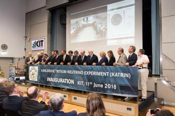Première injection de tritium dans l'expérience KATRIN