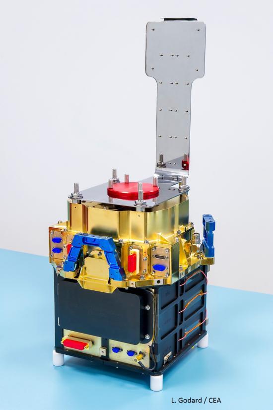 MXT : Livraison du modèle structurel et thermique de la caméra