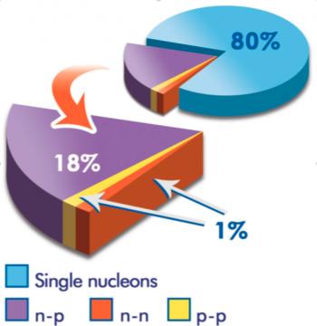 Les protons et neutrons modifient leur structure quand ils se couplent
