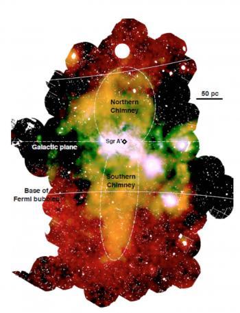 Signaux de fumée en provenance du trou noir super-massif de la Galaxie
