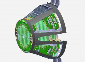 Les puces du nouveau détecteur à muons d'ALICE voient du faisceau pour la première fois