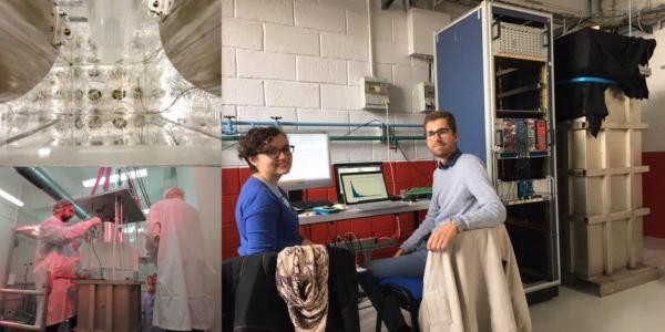 Parcours C - Manips étudiantes | micromegas pour Atlas | cryomodule
