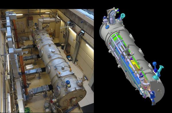 Parcours O - tomographie muons | cryomodule | caméra télectope CTA
